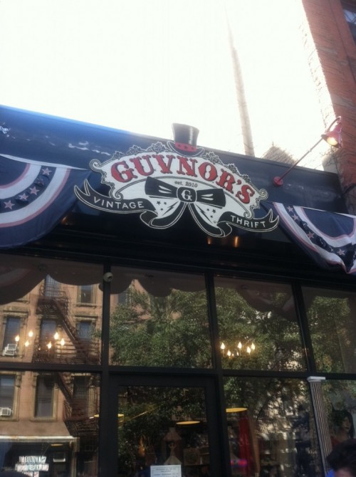 guvnor's thrift and vintage store brooklyn