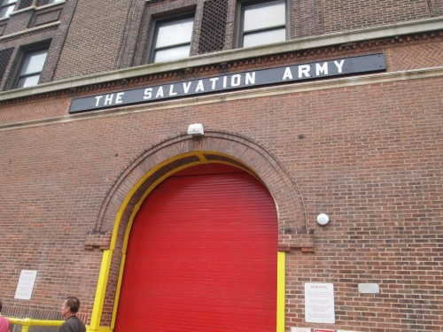 salvation army new york city