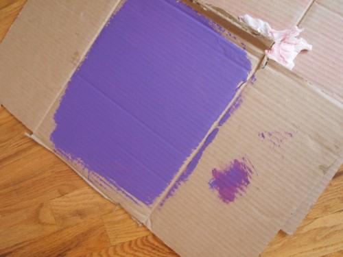 testing paint