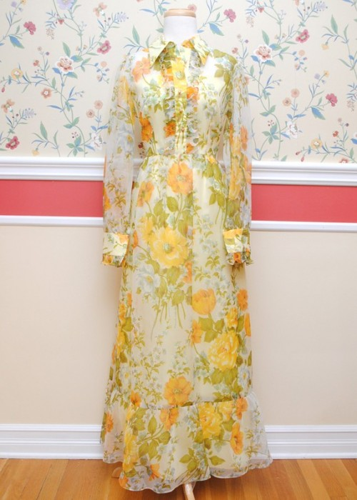 vintage maxi dress peg and amber