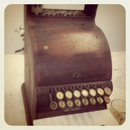vintage cash register till