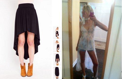 fish tail skirts