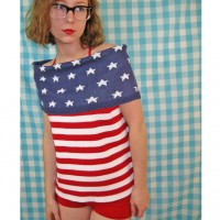 How to Wear Vintage Stars & Stripes in Style