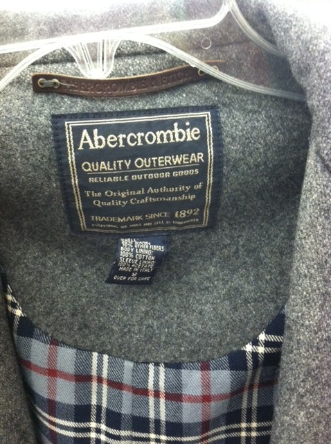 thrifted abercrombie and fitch