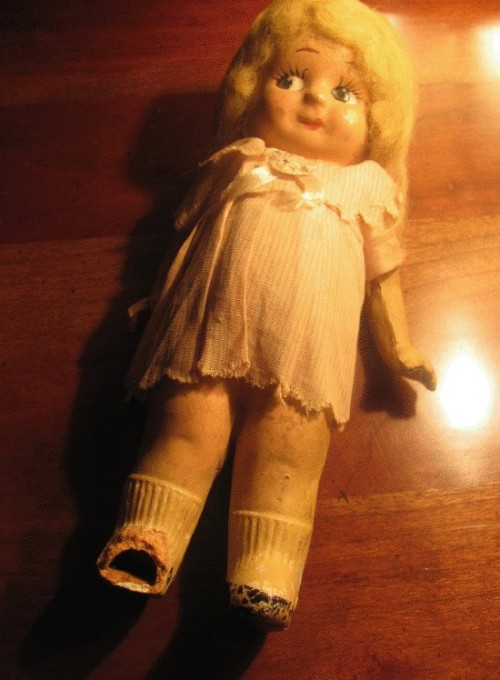 vintage children's doll
