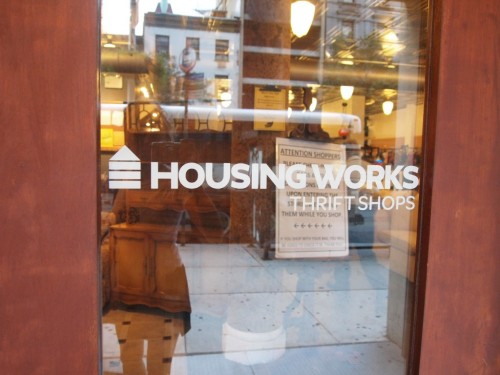 How to Decorate a Brooklyn Apartment Part III: Housing Works Thrift Store!