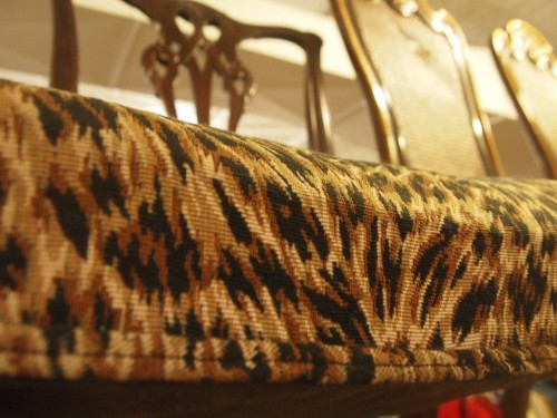 leopard print chair housing works nyc