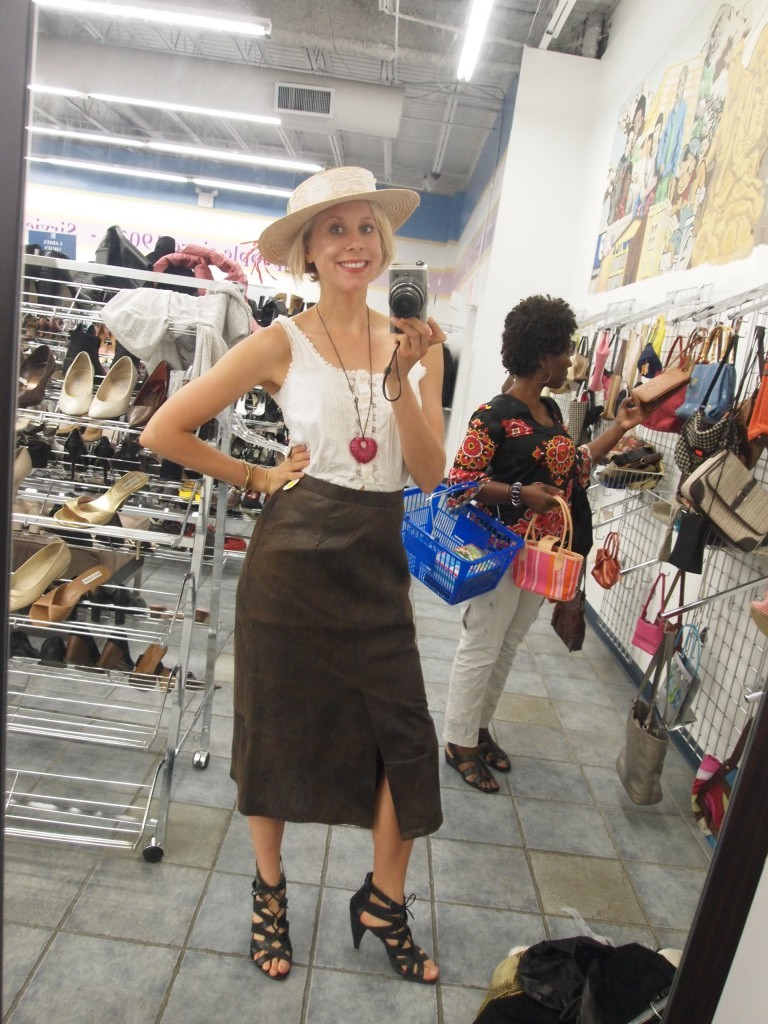 thrift shopping goodwill east harlem