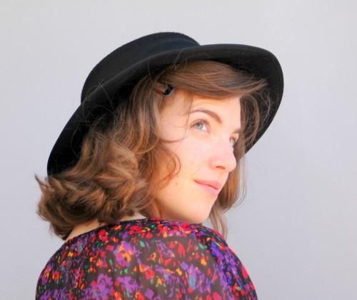 wild honey pie vintage hat