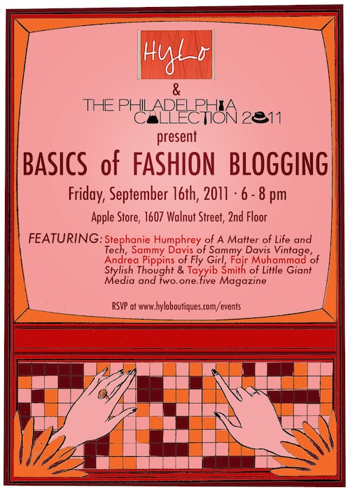 basics of fashion blogging