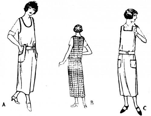 20s vintage style drop waist dresses