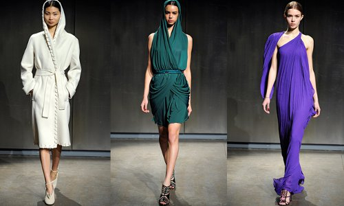 halston fall 2011 collection runway
