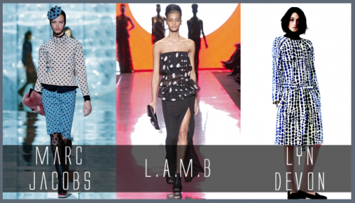 polka dots fall trends marc jacobs