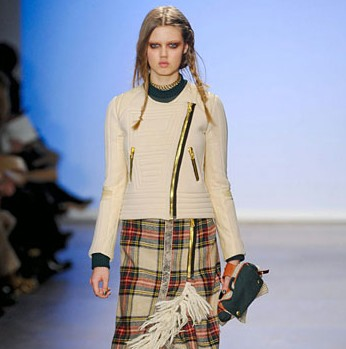 Thrifting the Runway: Plaid