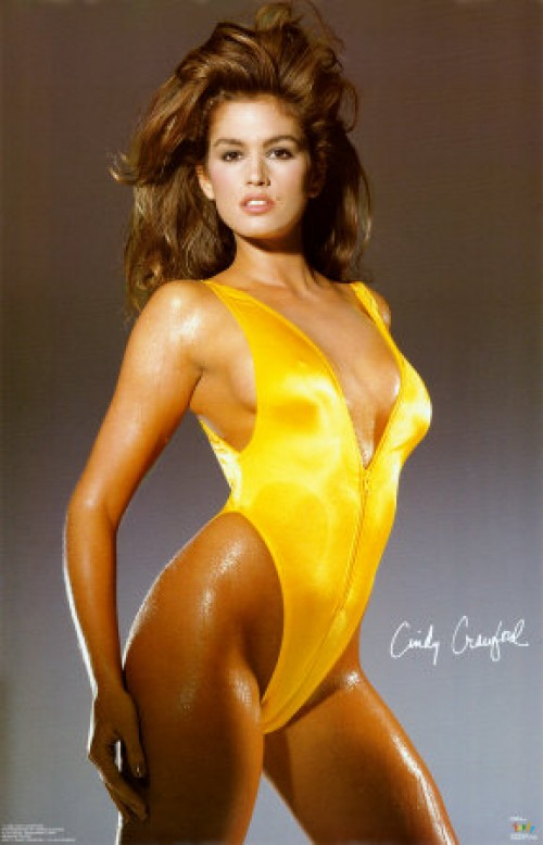 vintage cindy crawford photo