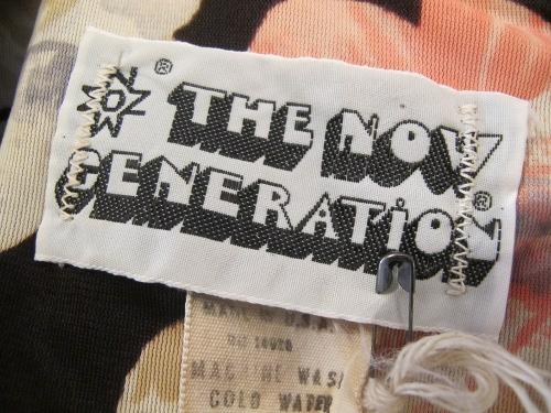 vintage'70s tag
