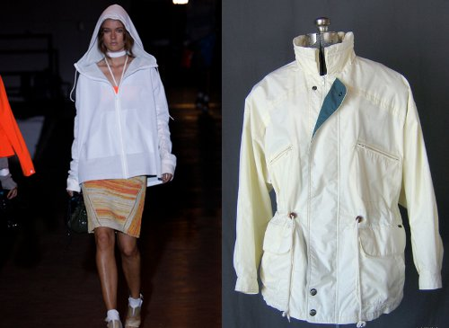 90s vintage fashion trends on spring 2012 runways