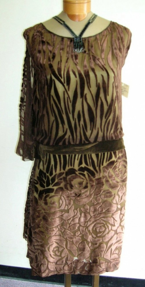 1920s dropwaist dress