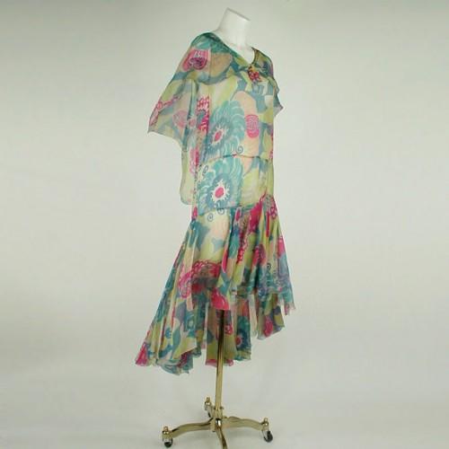 1920s vintage dropwaist dress