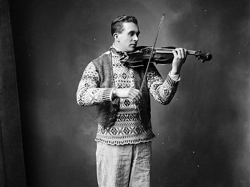 1920s fair isle sweater