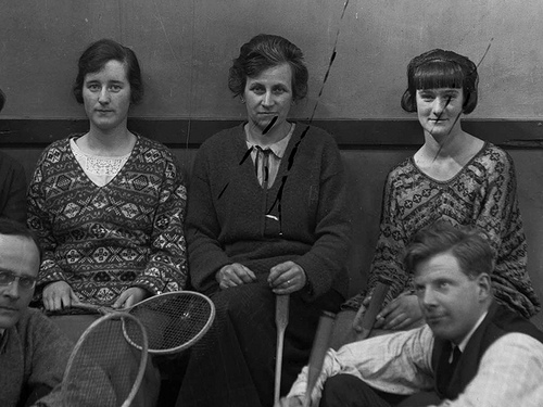 1930s fair isle sweaters