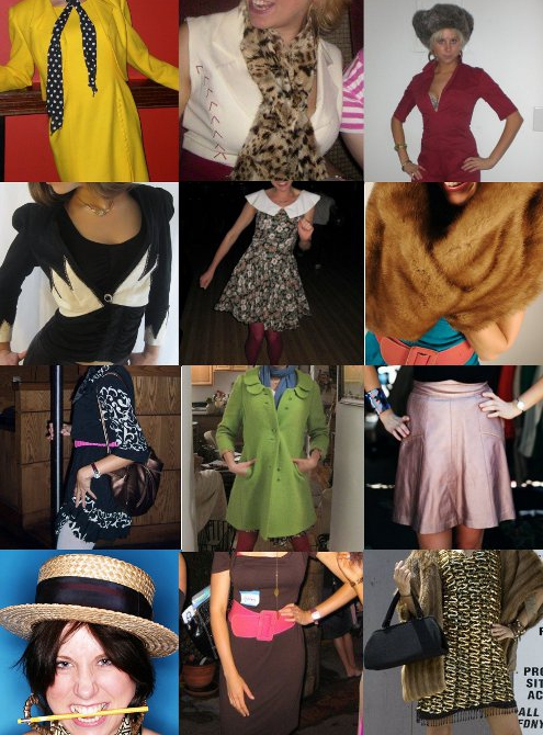 vintage fashion outfits