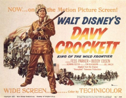 davy crockett movie poster