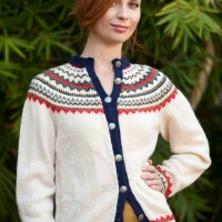 vintage fair isle sweater etsy
