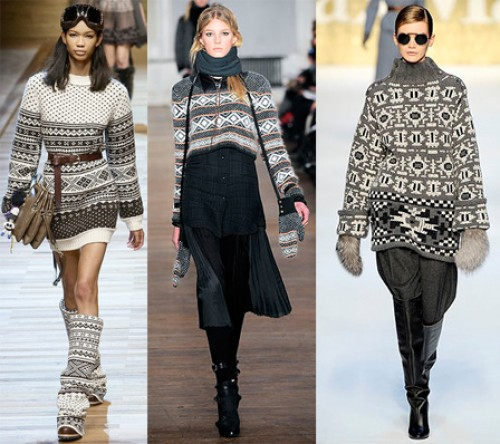 fair isle sweater trends 2011