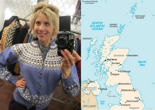 history of fair isle sweaters
