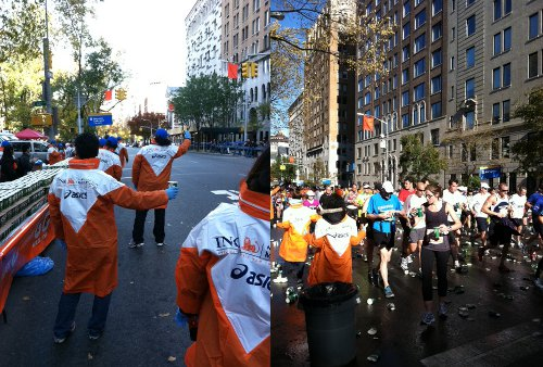 volunteering nyc marathon
