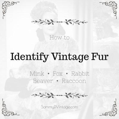 How to Identify Vintage Mink, Fox, Rabbit, Beaver & Raccoon Furs