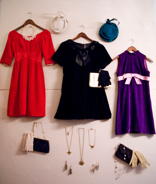VIDEO: In the Mood for Vintage Party Dresses!