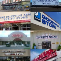 thrift store montage