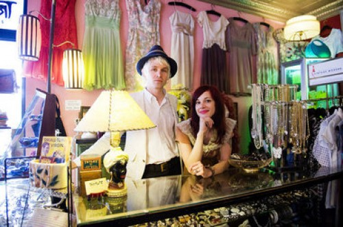 vintage store owners from new jersey