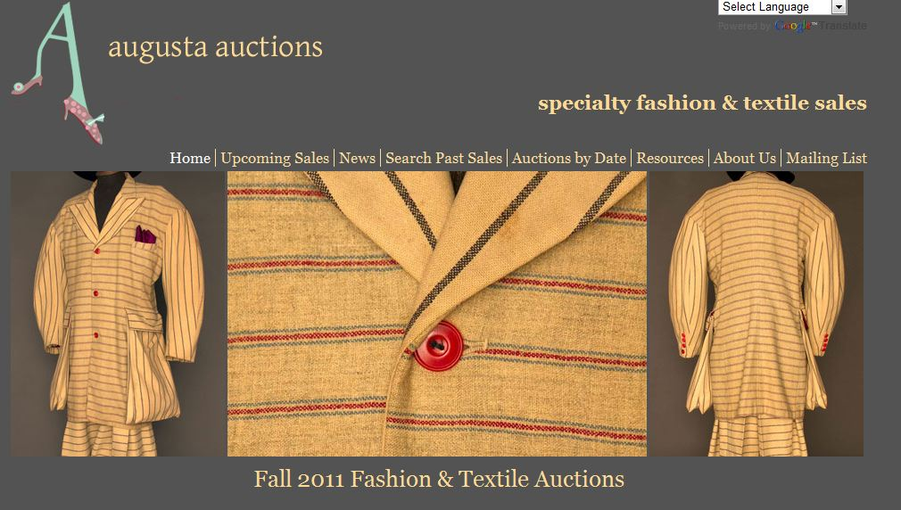 augusta auction house of vintage fashion