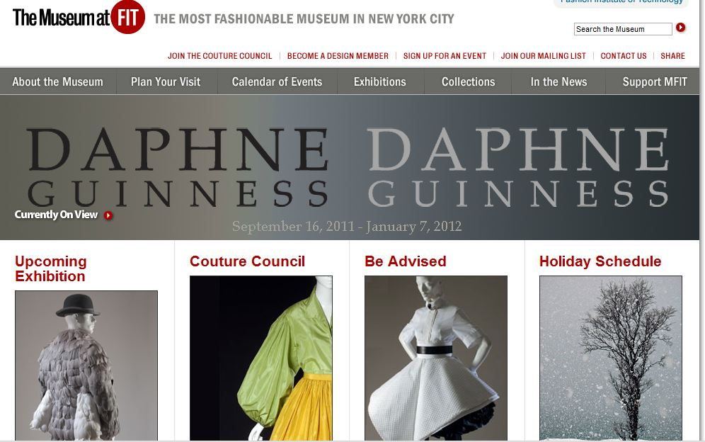 FIT museum website