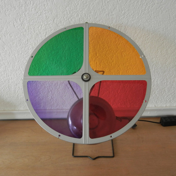 Rotating Color Wheel For Christmas Tree