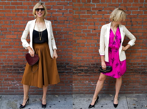 how to match vintage clothing