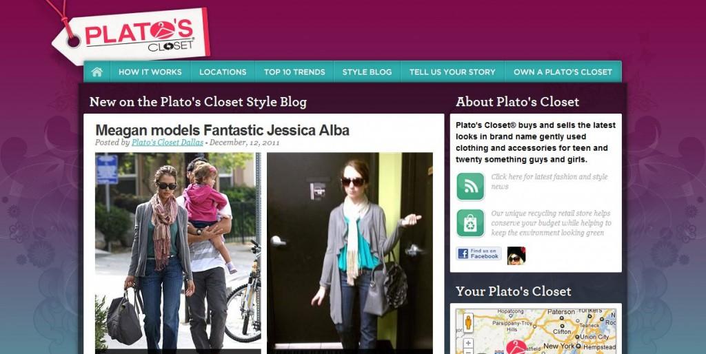 platos closet website