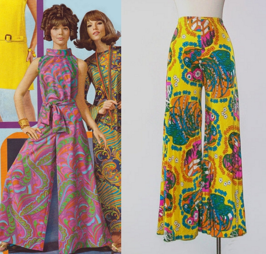 1960s fashion bell bottoms 2 10 ways the 1960s invented today's fashion trends,Womens Clothing 1960s
