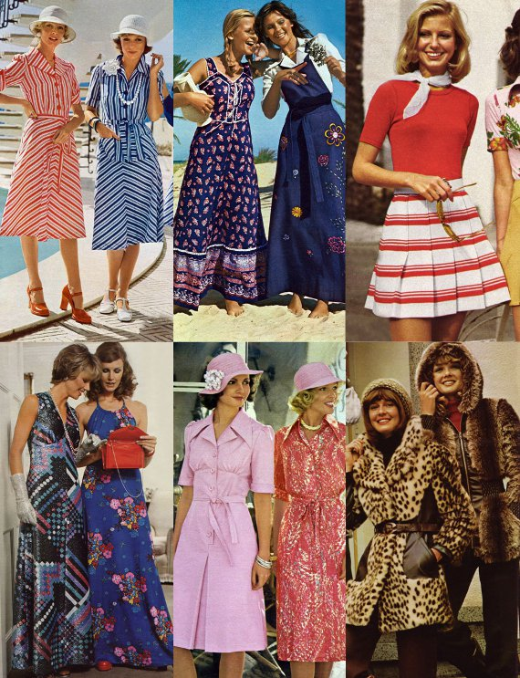 clothing of the 70s