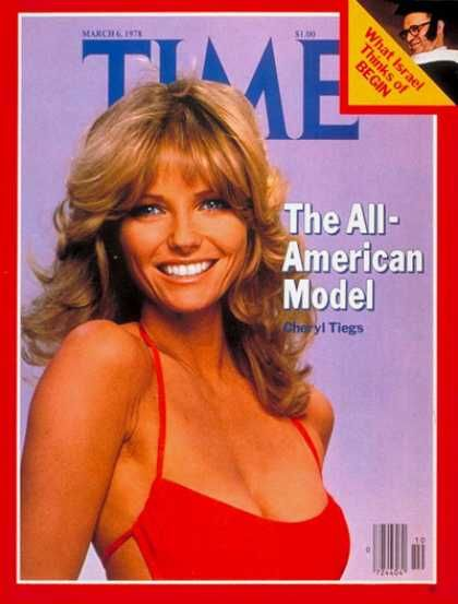 cheryl tiegs time magazine