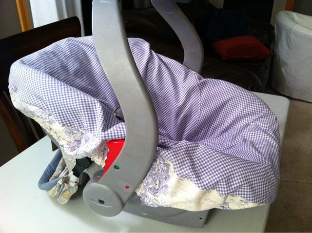 dont buy baby car seats at thrift store
