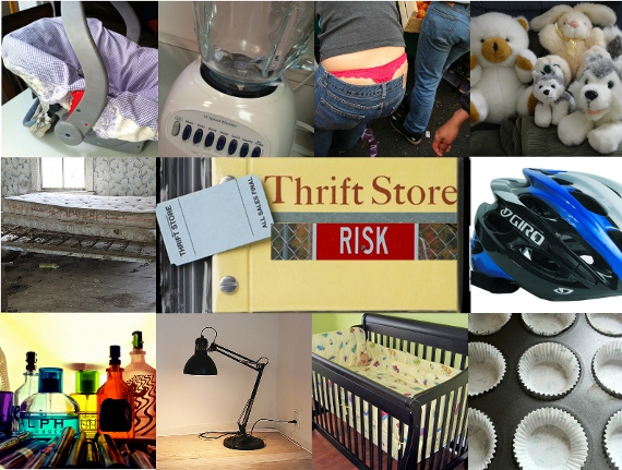 thrift store tips 10 risky things not to buy. Black Bedroom Furniture Sets. Home Design Ideas
