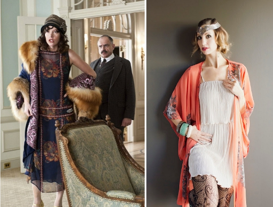 20s clothing trends drop waist dresses