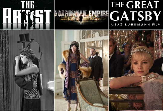 20s clothing trends films