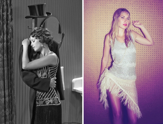 20s clothing trends sequins