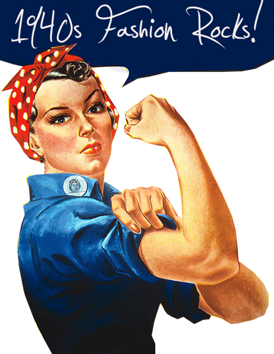 we can do it 1940s poster