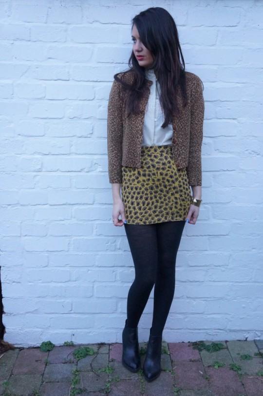 vintage secretary blouse 3